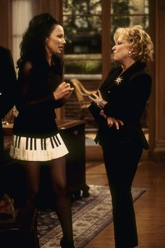Fran Fine and Barbra Streisand from The Nanny