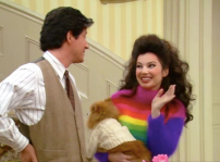 Fran Fine and Maxwell Sheffield on The Nanny